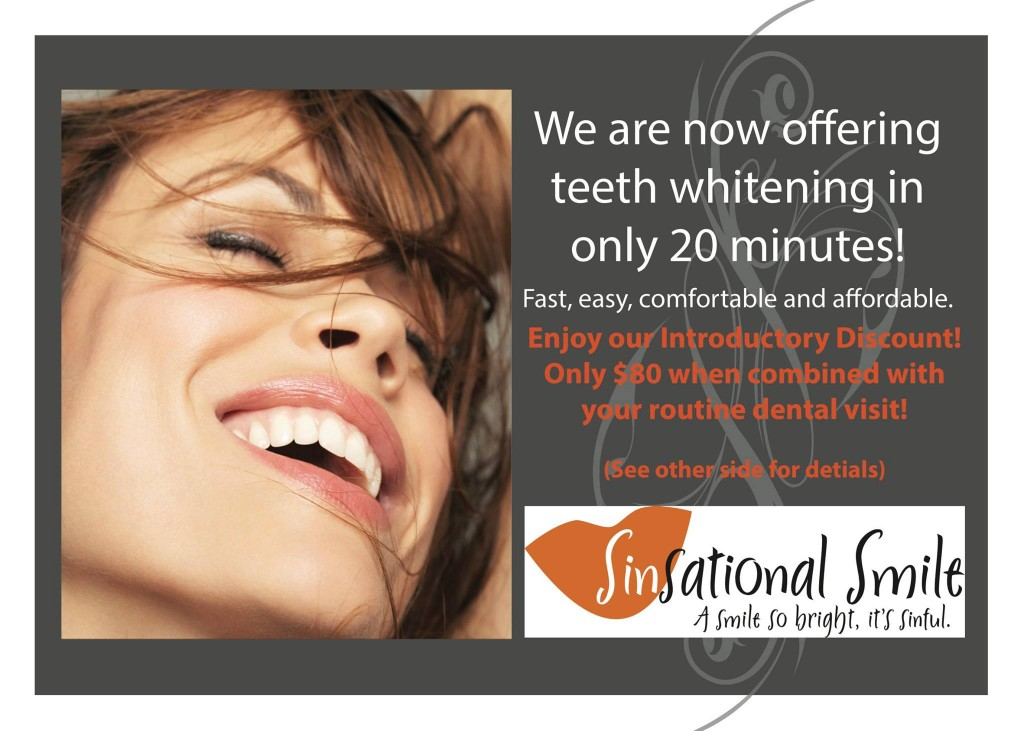sinsational teeth whitening sale coupon