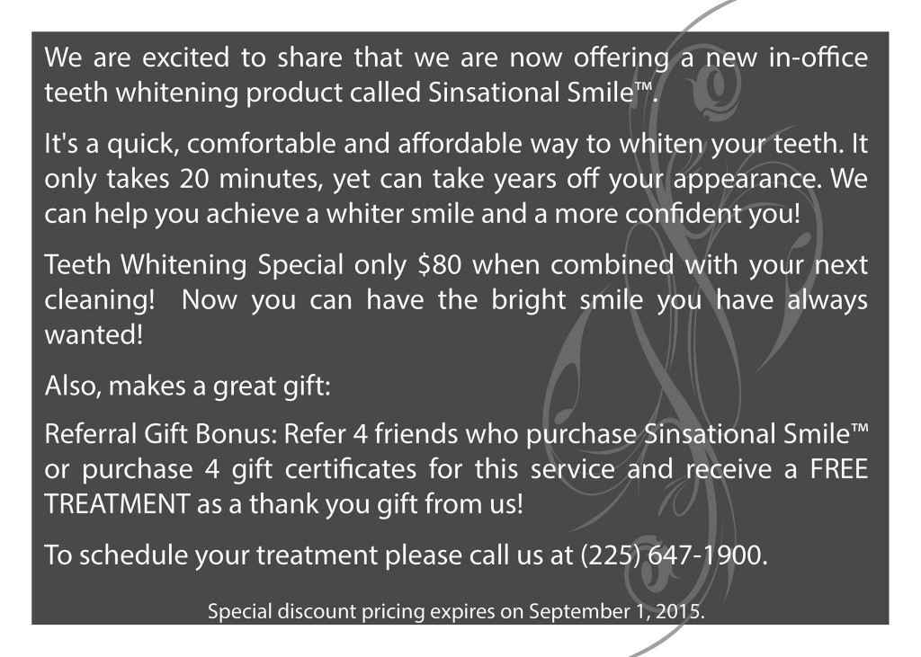 sale discount on teeth whitening fast